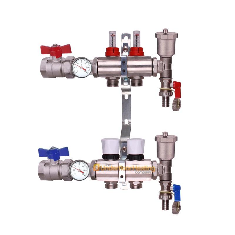 Underfloor Heating Manifold 2 12 Ports