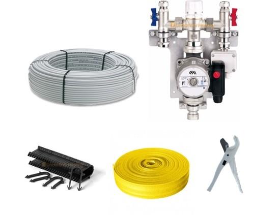 single zone underfloor heating kit the underfloor heating company