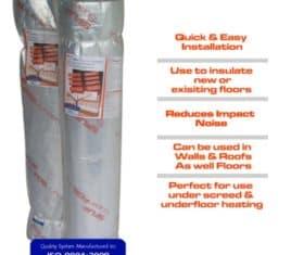 Superfoil UF Insulation the underfloor heating company