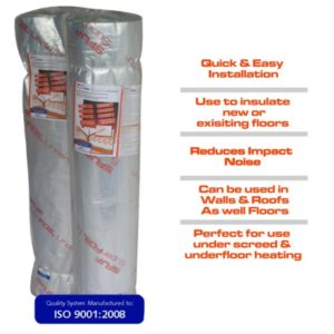 Superfoil UF Insulation the underfloor heating company