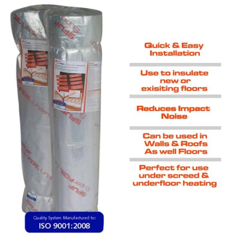 Superfoil UF Thermal Insulation Quilt 12sqm