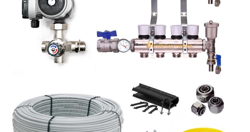 wet underfloor heating kit the underfloor heating company