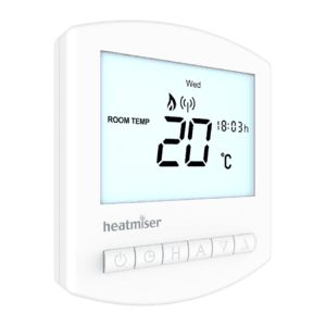 Heatmiser Slimline-RF V2 The Underfloor Heating Company