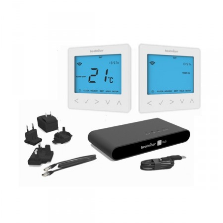 Heatmiser neoKit 2 Glacier White The Underfloor Heating Company