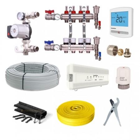 multizone wet underfloor heating kits the underfloor heating company