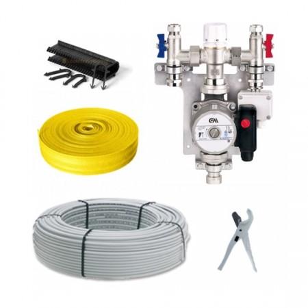 single zone wet underfloor heating kits the underfloor heating company