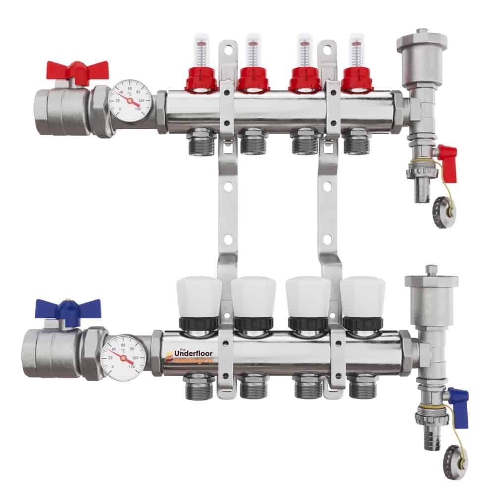 Premium Underfloor Heating Manifold – Complete Kit