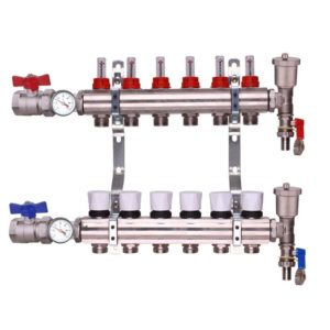 underfloor heating manifold complete kit the underfloor heating company