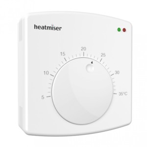 Heatmiser DS1 V2 Central Heating Thermostat The Underfloor Heating Company
