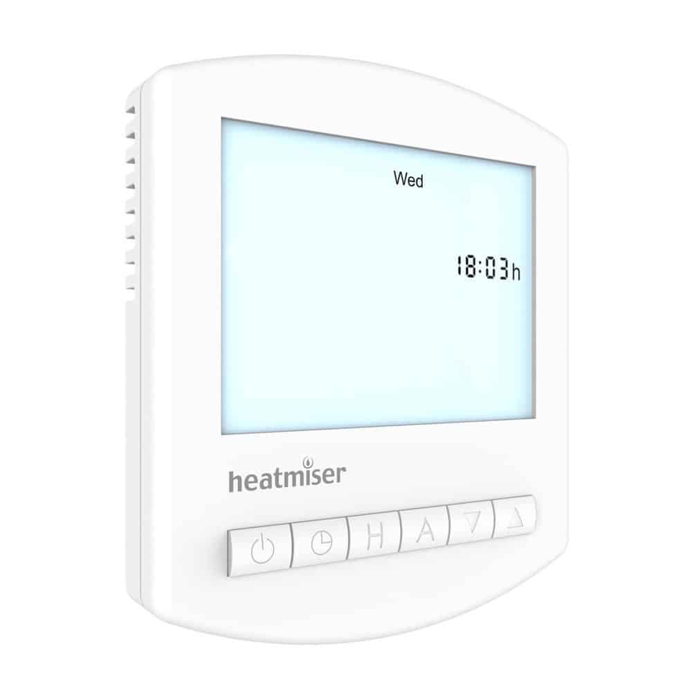 Heatmiser TM1-N V3 Time Clock – 12v Single Channel