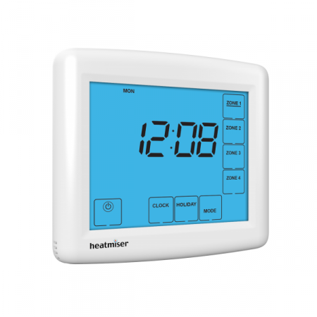 Heatmiser TM4-TS Time Clock The Underfloor Heating Company