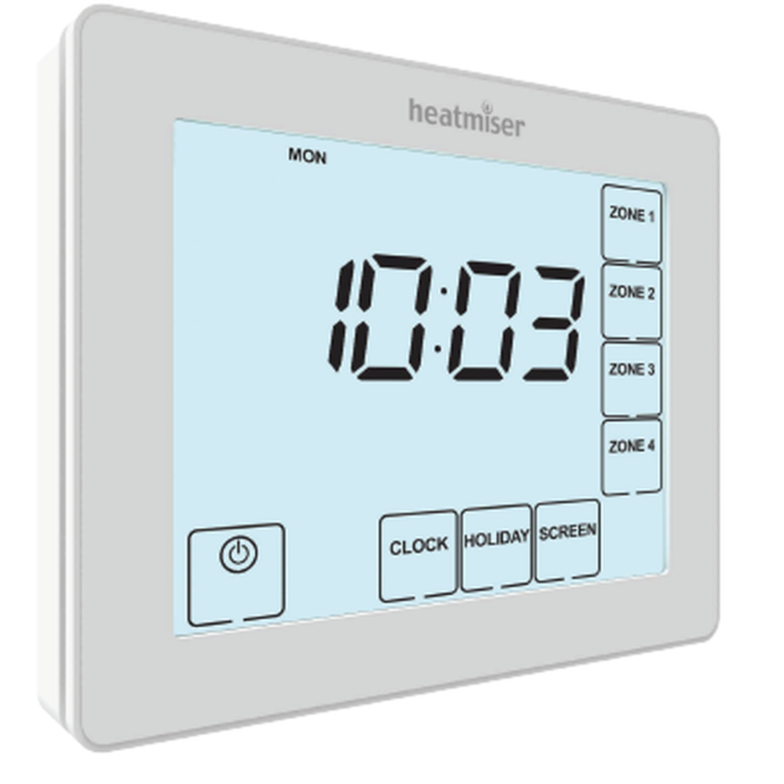 Heatmiser TM4-TS V2 Time Clock – 230v 4 Channel