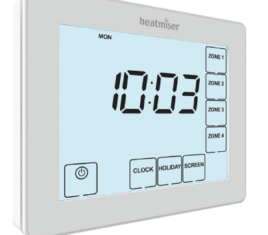 Heatmiser TM4-TS V2 NEW Time Clock The Underfloor Heating Company