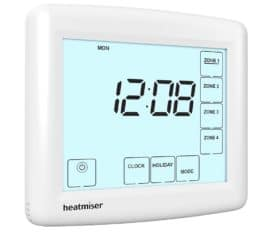 Heatmiser TM4-TS V2 Time Clock The Underfloor Heating Company