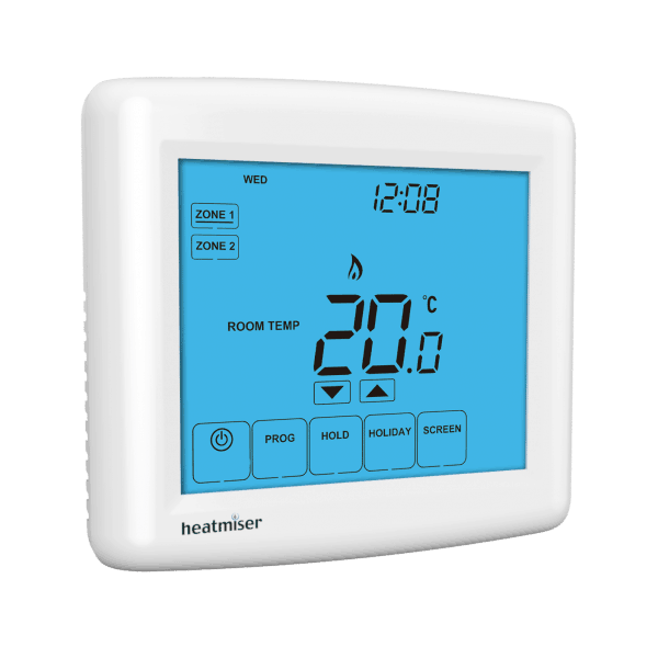 Heatmiser Touch Duo Two Zone Thermostat