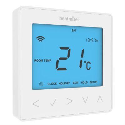 Heatmiser neoStat White The Underfloor Heating Company