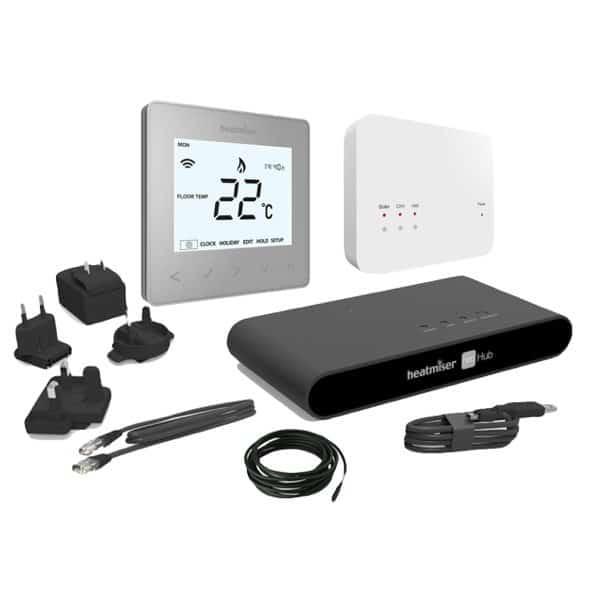 Heatmiser neoAir Kit – Platinum Silver
