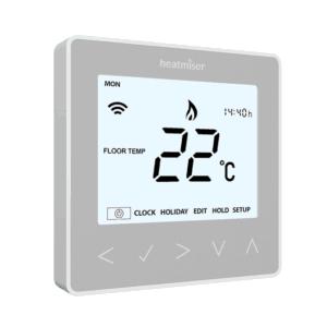 Heatmiser neoStat Silver the underfloor heating company