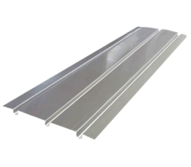 aluminium spreader plate triple groove THE UNDERFLOOR HEATING COMPANY