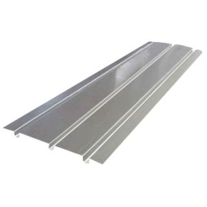 aluminium spreader plate triple groove THE UNDERFLOOR HEATING COMPANY