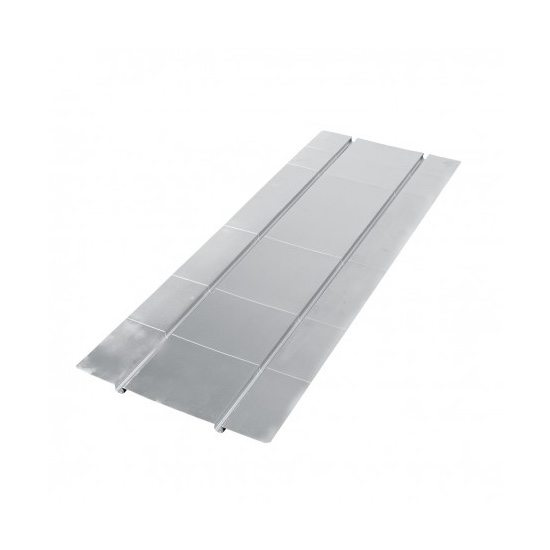 Aluminium Spreader Plate – 2 Grooves 200mm Centres