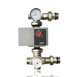 manifold pump and mixing valve set