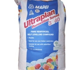 ultraplan renovation self levelling screed