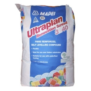 Ultraplan Renovation Levelling Screed 25kg The Underfloor Heating Company