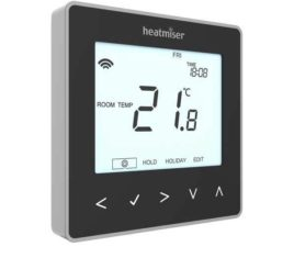 Heatmiser NeoStat V2 Black the underfloor heating company