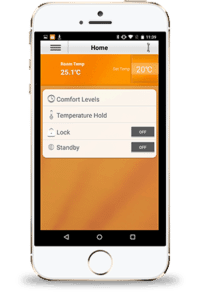 Heatmiser Smartphone Thermostat Control App