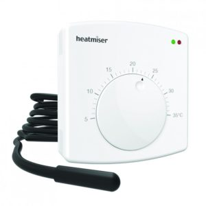 Heatmiser DS1-E - Electric Floor Heating Thermostat The Underfloor Heating Company