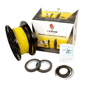varme electric underfloor heating loose cable kits the underfloor heating company thermostat