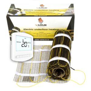 varme electric underfloor heating cable mat kit the underfloor heating company