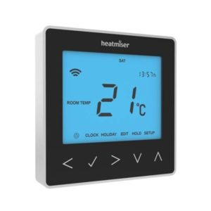 Heatmiser neoStat V2 - Sapphire Black The Underfloor Heating Company