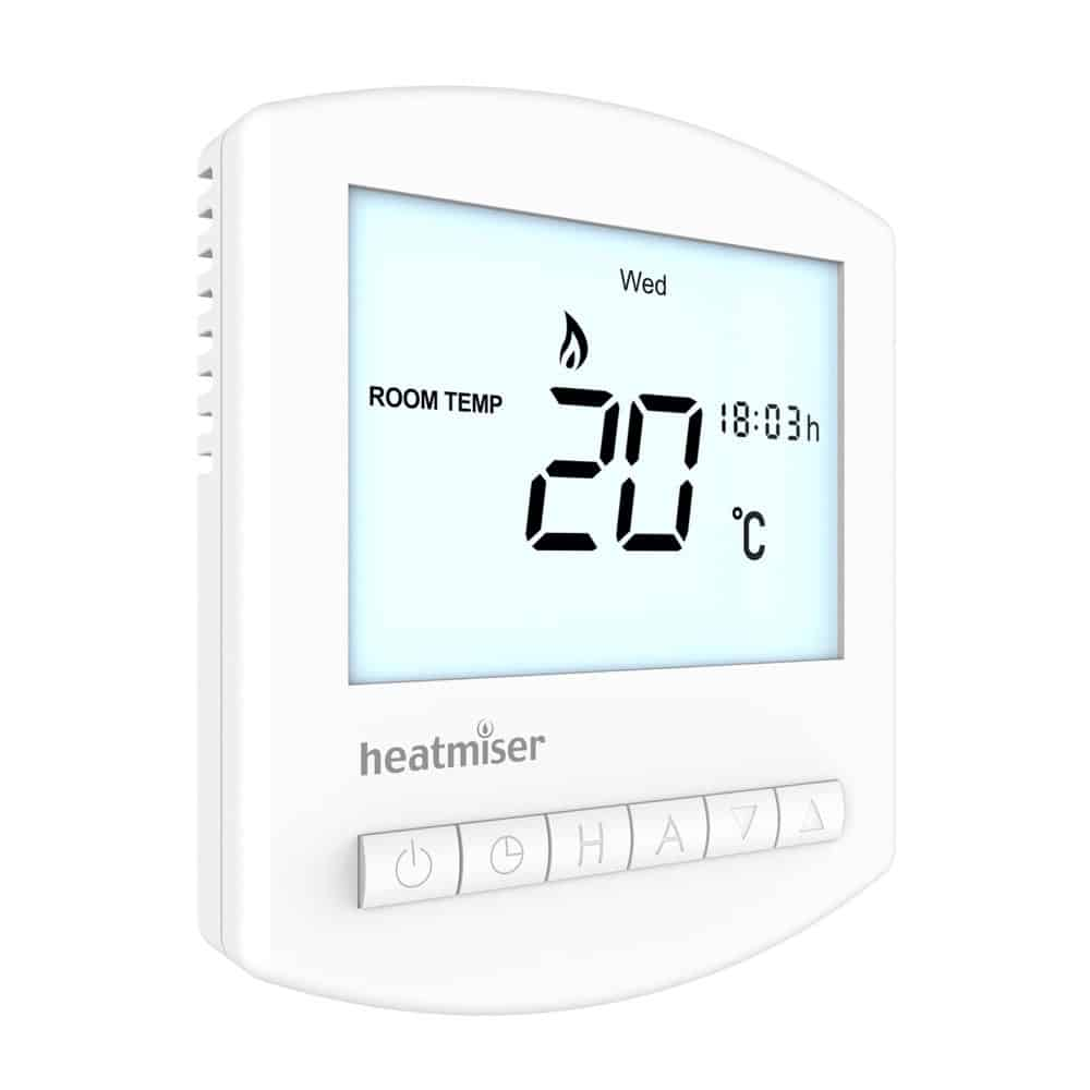 Heatmiser Slimline HW-N V2 12v