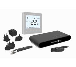 Heatmiser neoKit 1 - Platinum Silver The Underfloor Heating Company