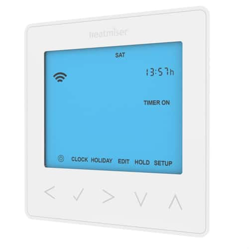 Heatmiser neoStat HW Hot Water Programmer – Glacier White