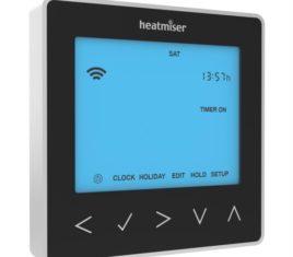 Heatmiser neoStat HW Black