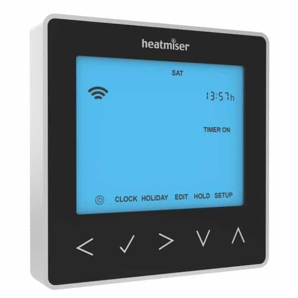 Heatmiser neoStat HW Hot Water Programmer – Sapphire Black
