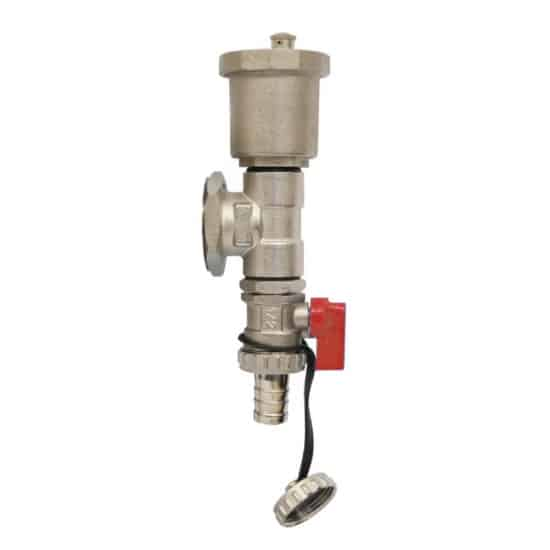 Manifold Drain/Fill Valve – Red Tap