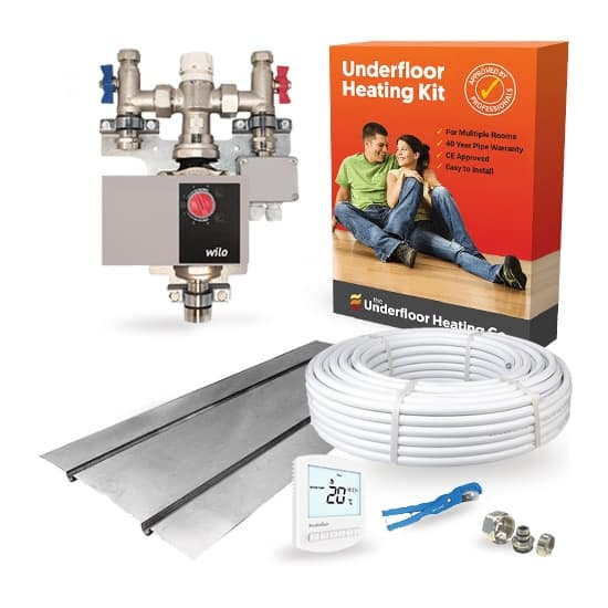 Water Underfloor Heating Single Room Joist Kits The Underfloor Heating Company