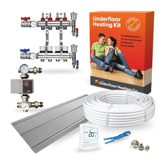 Single Room Wet Underfloor Heating Joist Kit – High Output UFH