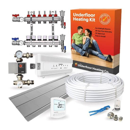 Water Underfloor Heating Multi Room Joist Kits The Underfloor Heating Company