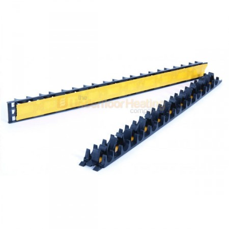 Self adhesive grip rails
