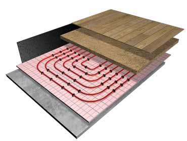 Warm Water Underfloor Heating